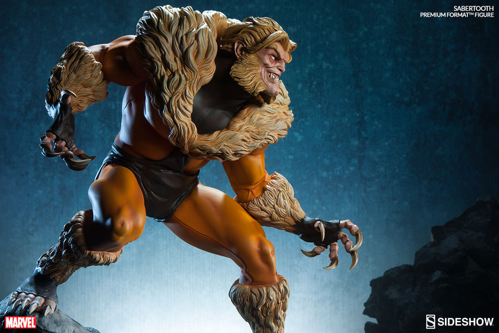 Sabretooth Premium Format Statue-Sideshow Collectibles- www.superherotoystore.com-Statue - 6