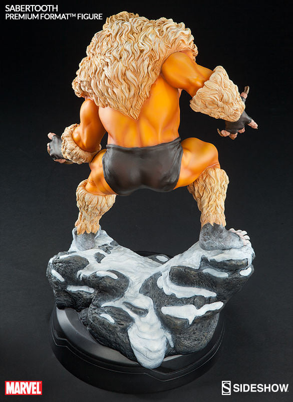 Sabretooth Premium Format Statue-Sideshow Collectibles- www.superherotoystore.com-Statue - 5
