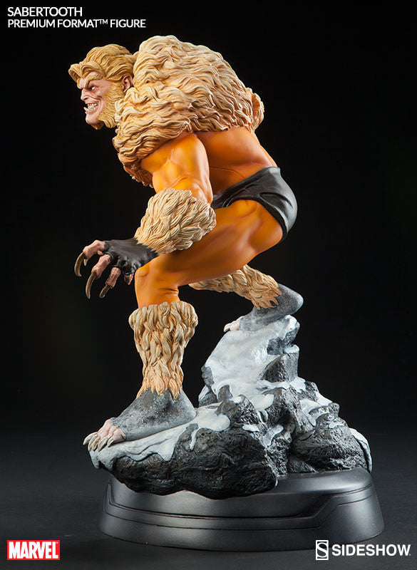 Sabretooth Premium Format Statue-Sideshow Collectibles- www.superherotoystore.com-Statue - 4