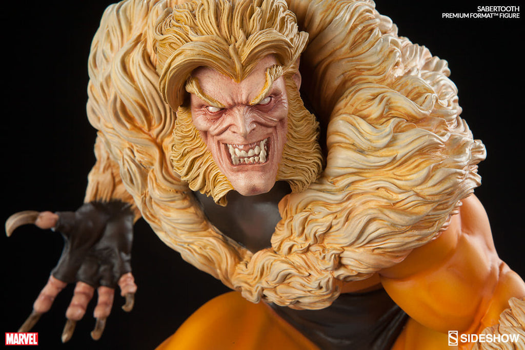 Sabretooth Premium Format Statue-Sideshow Collectibles- www.superherotoystore.com-Statue - 2