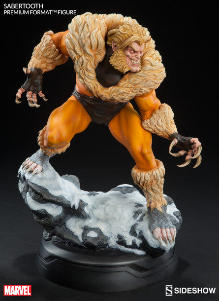 Sabretooth Premium Format Statue-Sideshow Collectibles- www.superherotoystore.com-Statue - 3
