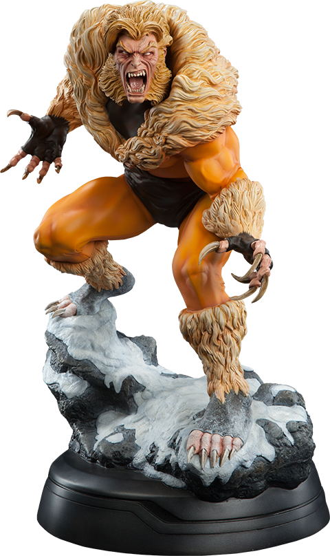 Sabretooth Premium Format Statue-Sideshow Collectibles- www.superherotoystore.com-Statue - 1