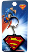 WB supermanman Rubber Key Chain-Bombaymerch- www.superherotoystore.com-Keychains