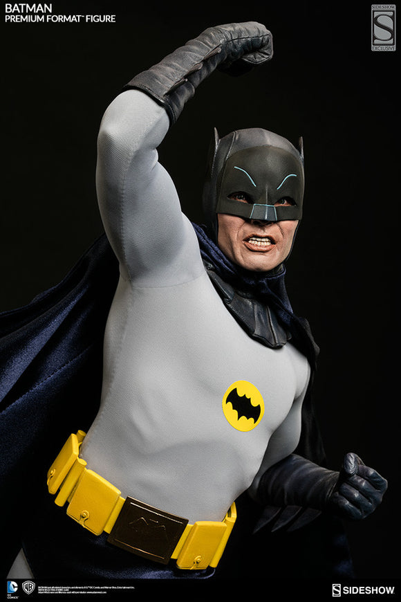 Batman 1966: Batman 1/4th Scale Premium Format Statue by Sideshow Collectibles-Sideshow Collectibles- www.superherotoystore.com-Statue - 1