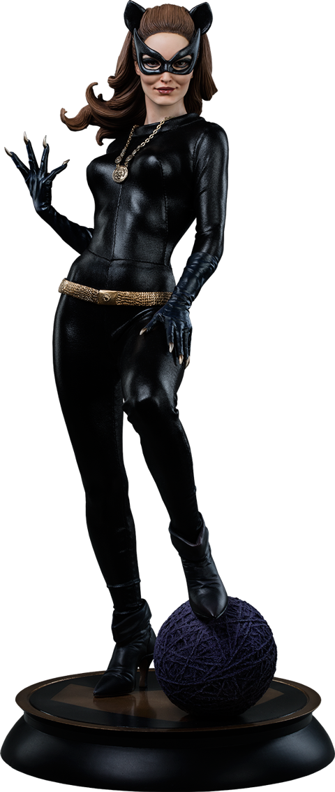 Batman 1966: Catwoman Premium Format Figure by Sideshow Collectibles-Sideshow Collectibles- www.superherotoystore.com-Statue - 1