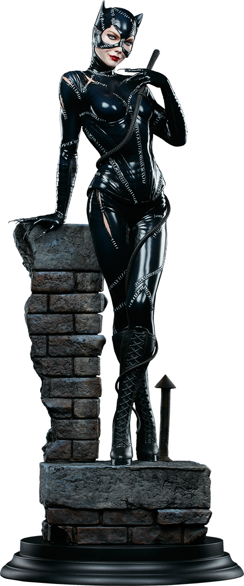 Batman Returns Catwoman 1/4th Scale Premium Format Figure by Sideshow Collectibles-Sideshow Collectibles- www.superherotoystore.com-Statue - 1