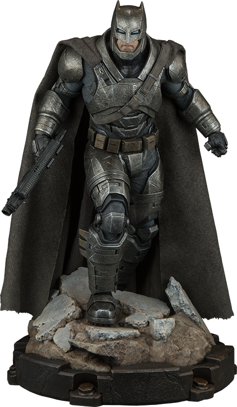 Armored Batman 1/4th Scale Premium Format Figure by Sideshow Collectibles-Sideshow Collectibles- www.superherotoystore.com-Statue - 1