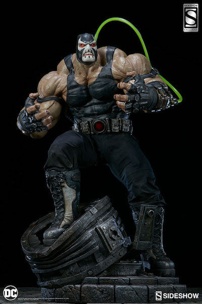 DC Comics: Bane 1/4th Scale Premium Format Figure by Sideshow Collectibles-Sideshow Collectibles- www.superherotoystore.com-Statue - 3