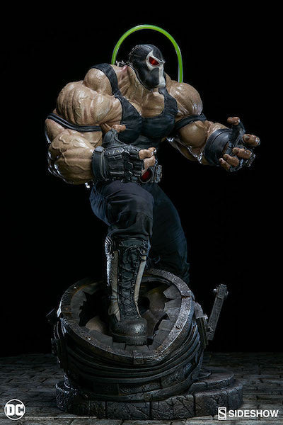 DC Comics: Bane 1/4th Scale Premium Format Figure by Sideshow Collectibles-Sideshow Collectibles- www.superherotoystore.com-Statue - 5
