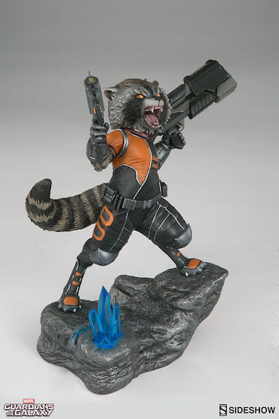 Rocket Raccoon Premium Format Figure by Sideshow Collectibles