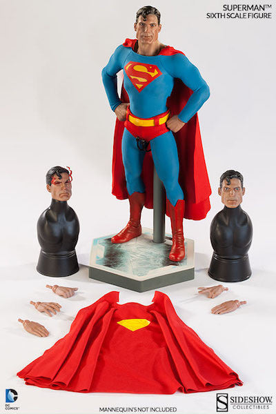 Superman 1/6th Scale Figure by Sideshow Collectibles