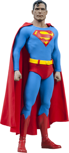 Superman 1/6th Scale Figure by Sideshow Collectibles-Sideshow Collectibles- www.superherotoystore.com-Action Figure - 1