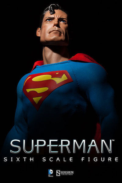Superman 1/6th Scale Figure by Sideshow Collectibles-Sideshow Collectibles- www.superherotoystore.com-Action Figure - 2