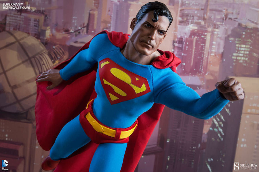 Superman 1/6th Scale Figure by Sideshow Collectibles-Sideshow Collectibles- www.superherotoystore.com-Action Figure - 3