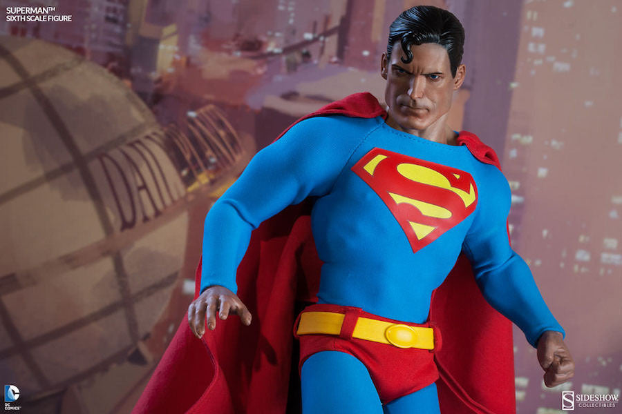 Superman 1/6th Scale Figure by Sideshow Collectibles-Sideshow Collectibles- www.superherotoystore.com-Action Figure - 4