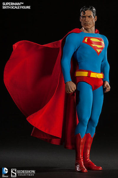 Superman 1/6th Scale Figure by Sideshow Collectibles-Sideshow Collectibles- www.superherotoystore.com-Action Figure - 5