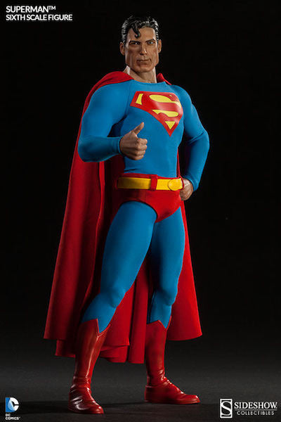 Superman 1/6th Scale Figure by Sideshow Collectibles-Sideshow Collectibles- www.superherotoystore.com-Action Figure - 6