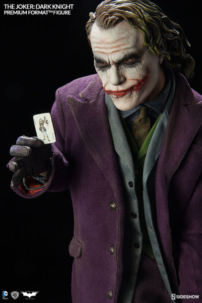 The Dark Knight: Joker 1/4th Scale Premium Format Figure by Sideshow Collectibles-Sideshow Collectibles- www.superherotoystore.com-Statue - 10