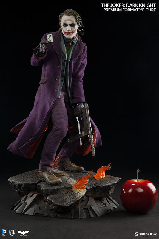 Joker Premium Figure By Sideshow Collectibles Now