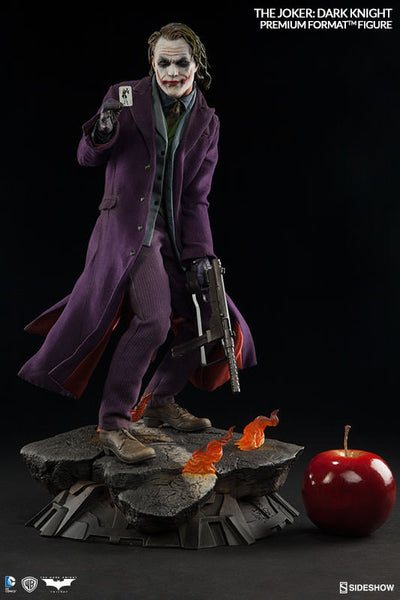 The Dark Knight: Joker 1/4th Scale Premium Format Figure by Sideshow Collectibles-Sideshow Collectibles- www.superherotoystore.com-Statue - 6