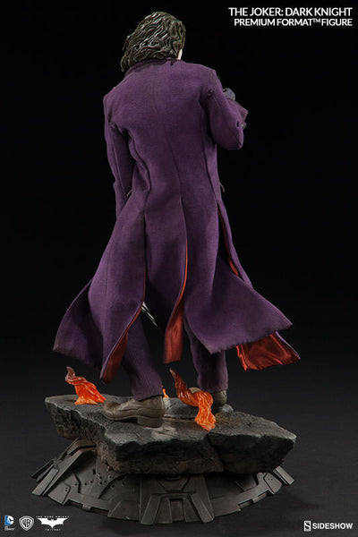 The Dark Knight: Joker 1/4th Scale Premium Format Figure by Sideshow Collectibles-Sideshow Collectibles- www.superherotoystore.com-Statue - 8