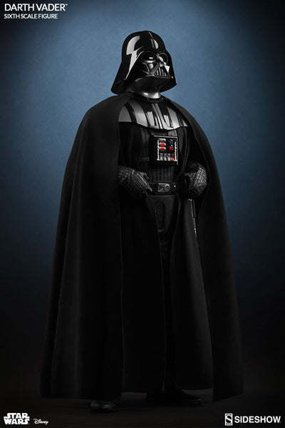 Darth Vader 1/6th Scale Figure by Sideshow Collectibles-Sideshow Collectibles- www.superherotoystore.com-Action Figure - 1