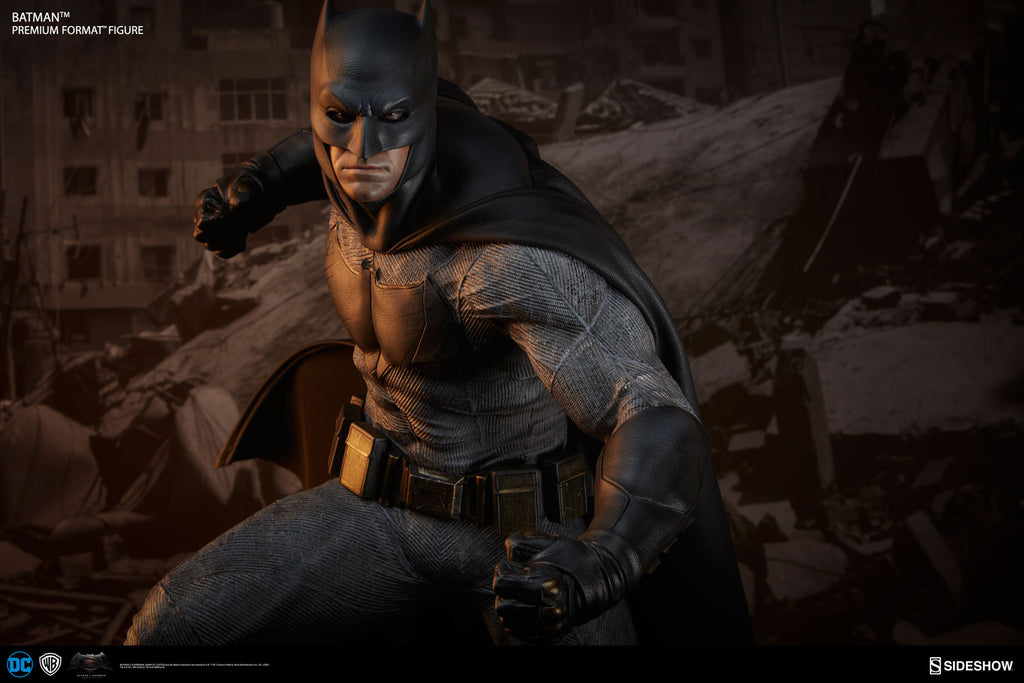 Dawn Of Justice Batman 1/4th Scale Premium Format Figure by Sideshow Collectibles-Sideshow Collectibles- www.superherotoystore.com-Statue - 3