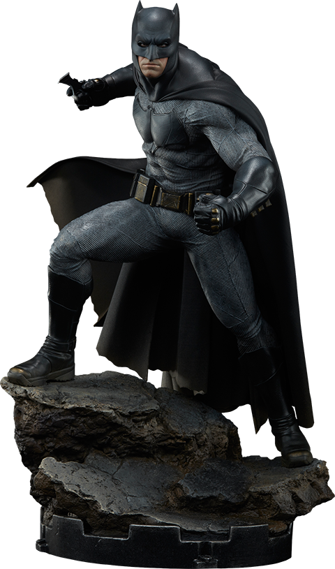 Dawn Of Justice Batman 1/4th Scale Premium Format Figure by Sideshow Collectibles-Sideshow Collectibles- www.superherotoystore.com-Statue - 1