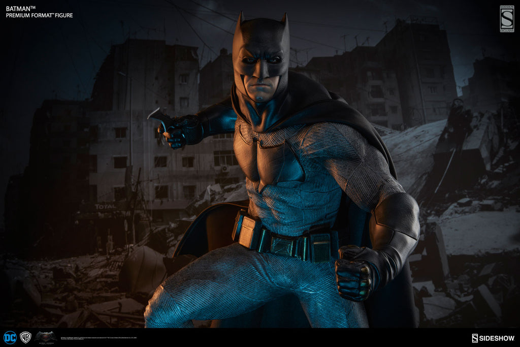 Dawn Of Justice Batman 1/4th Scale Premium Format Figure by Sideshow Collectibles-Sideshow Collectibles- www.superherotoystore.com-Statue - 4