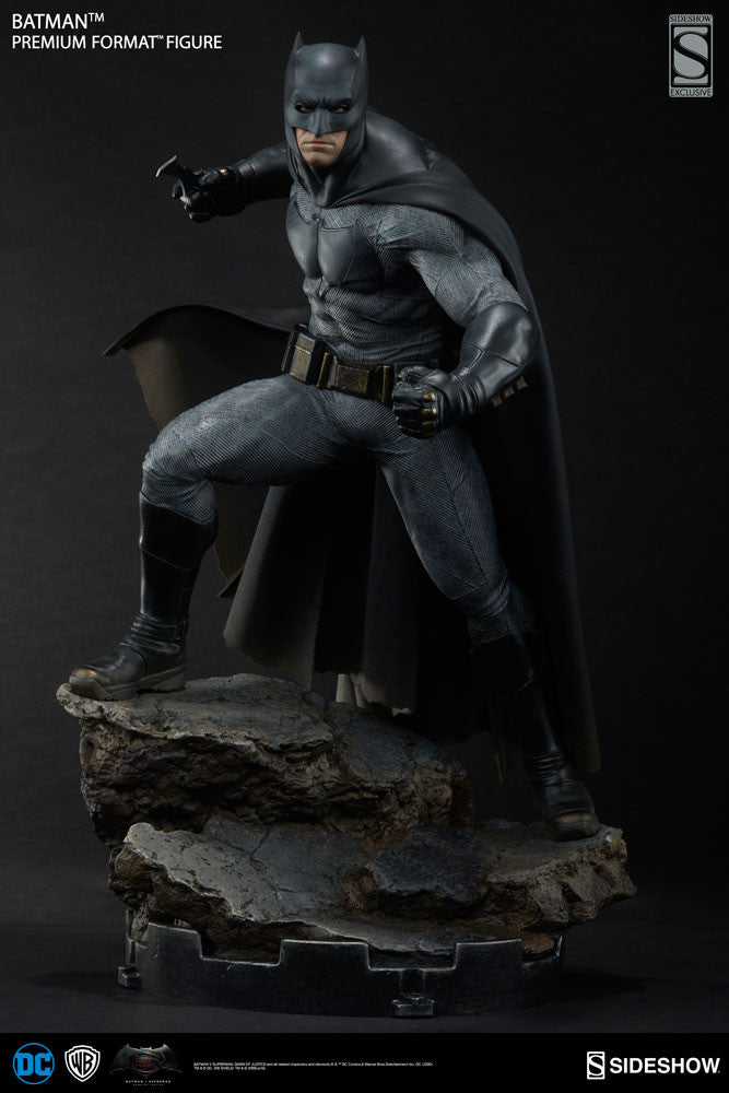 Dawn Of Justice Batman 1/4th Scale Premium Format Figure by Sideshow Collectibles-Sideshow Collectibles- www.superherotoystore.com-Statue - 7