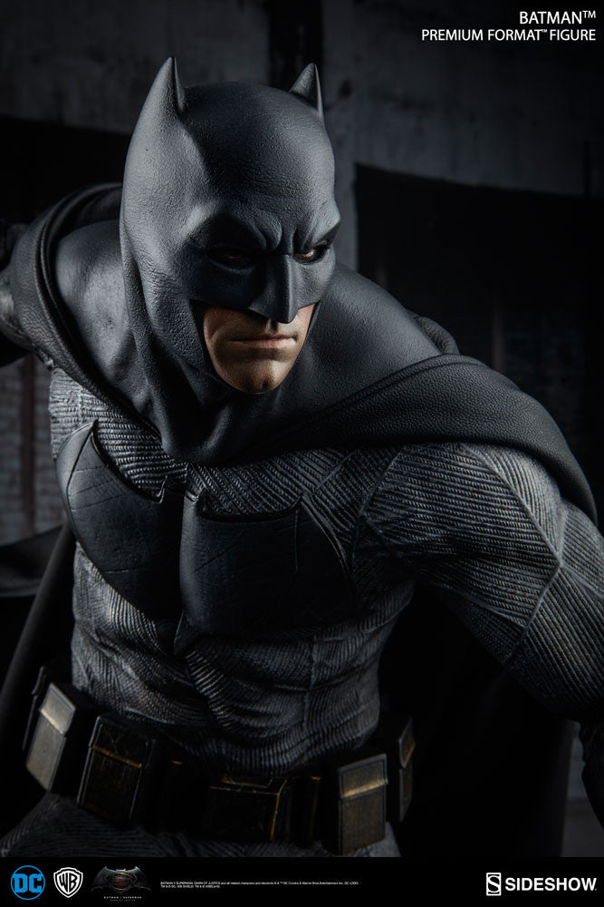Dawn Of Justice Batman 1/4th Scale Premium Format Figure by Sideshow Collectibles-Sideshow Collectibles- www.superherotoystore.com-Statue - 5