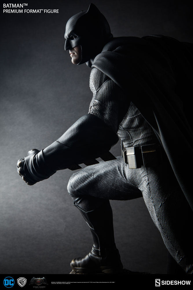 Dawn Of Justice Batman 1/4th Scale Premium Format Figure by Sideshow Collectibles-Sideshow Collectibles- www.superherotoystore.com-Statue - 6