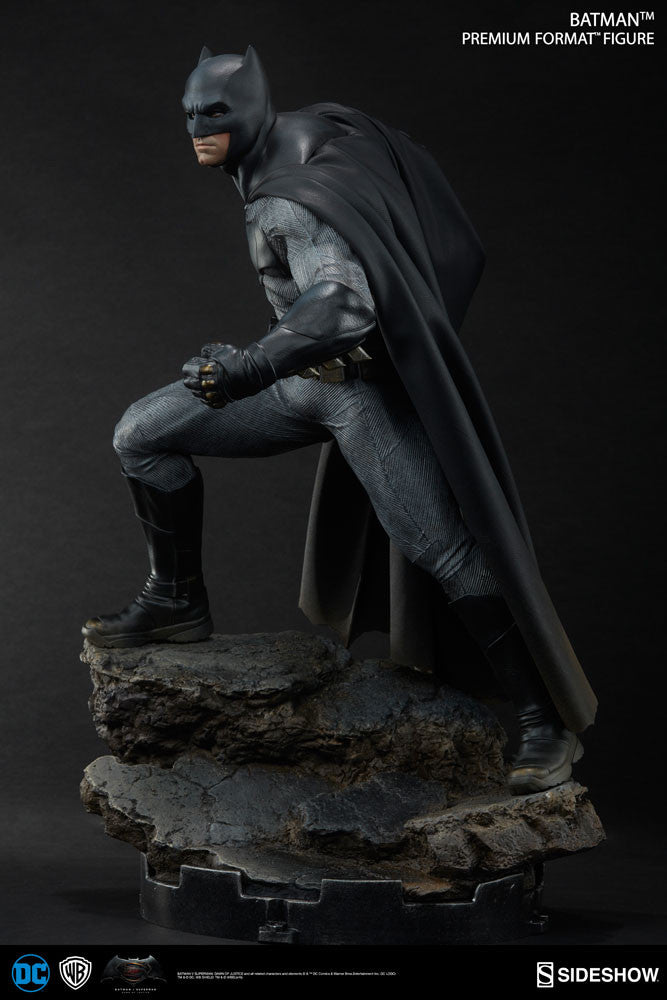 Dawn Of Justice Batman 1/4th Scale Premium Format Figure by Sideshow Collectibles-Sideshow Collectibles- www.superherotoystore.com-Statue - 8