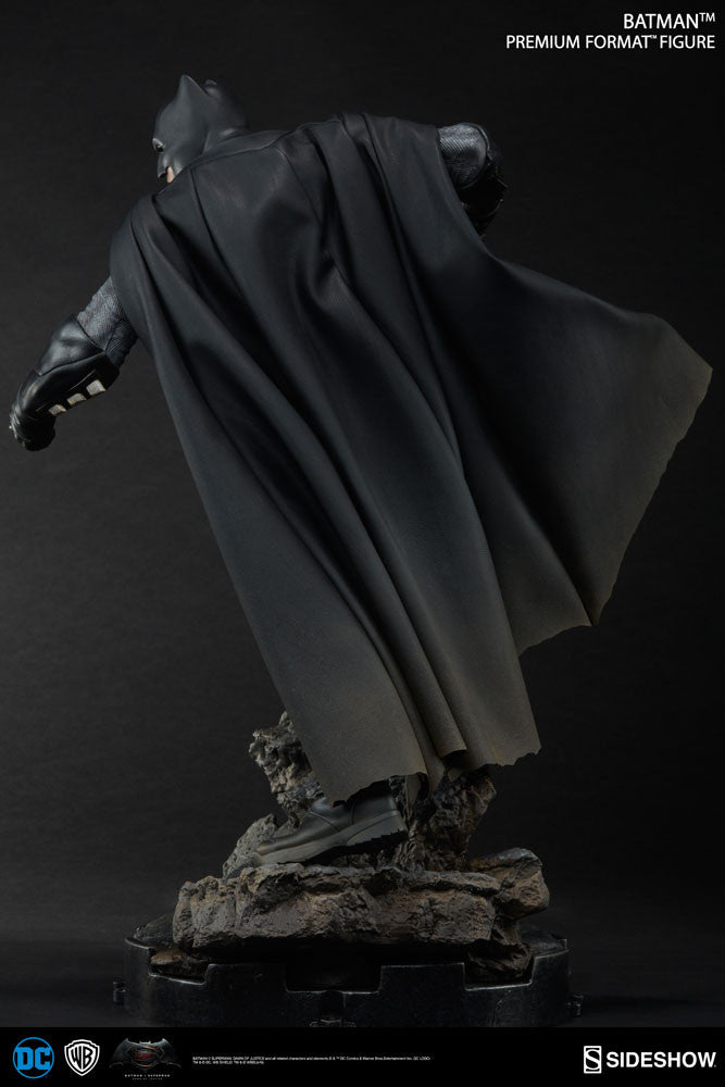 Dawn Of Justice Batman 1/4th Scale Premium Format Figure by Sideshow Collectibles-Sideshow Collectibles- www.superherotoystore.com-Statue - 9