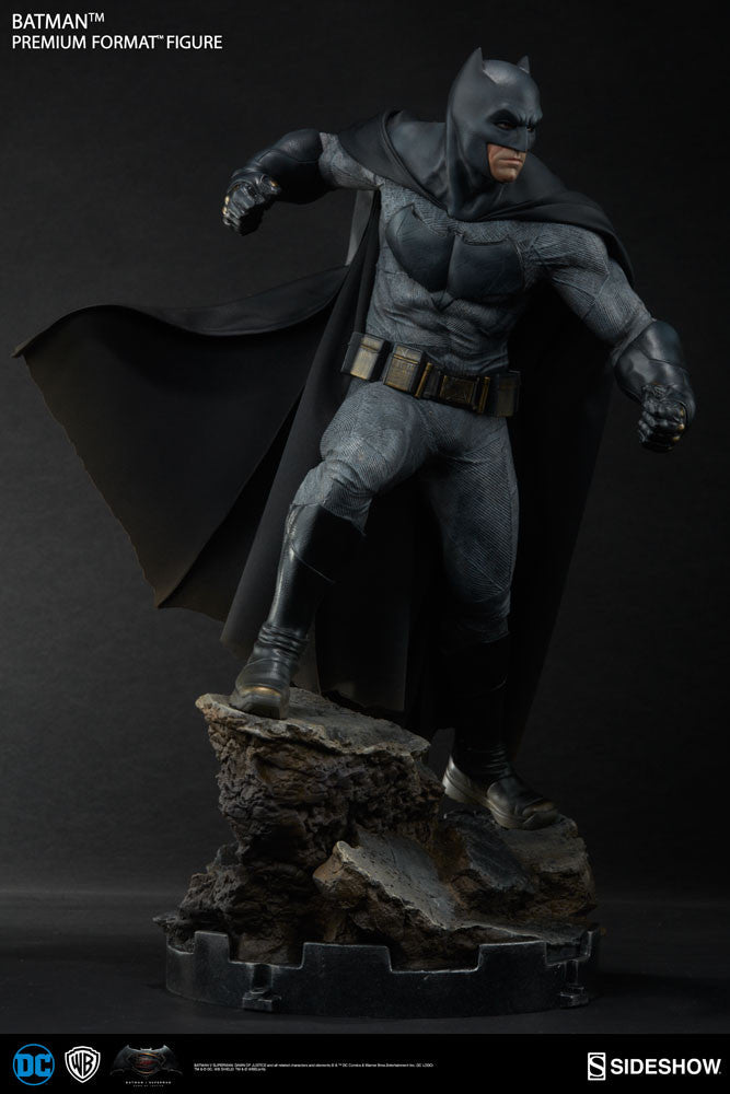Dawn Of Justice Batman 1/4th Scale Premium Format Figure by Sideshow Collectibles-Sideshow Collectibles- www.superherotoystore.com-Statue - 11