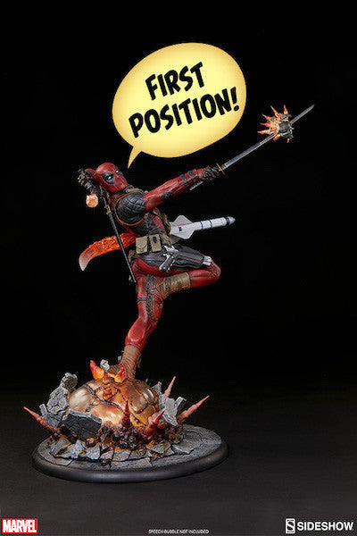 Deadpool Heat-Seeker Premium Format Figure by Sideshow Collectibles-Sideshow Collectibles- www.superherotoystore.com-Statue - 15