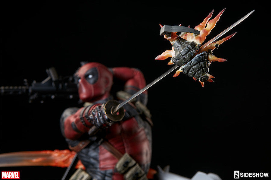 Deadpool Heat-Seeker Premium Format Figure by Sideshow Collectibles-Sideshow Collectibles- www.superherotoystore.com-Statue - 16