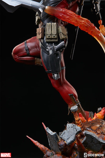 Deadpool Heat-Seeker Premium Format Figure by Sideshow Collectibles-Sideshow Collectibles- www.superherotoystore.com-Statue - 22