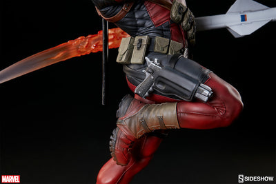 Deadpool Heat-Seeker Premium Format Figure by Sideshow Collectibles-Sideshow Collectibles- www.superherotoystore.com-Statue - 23