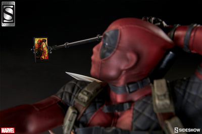 Deadpool Heat-Seeker Premium Format Figure by Sideshow Collectibles-Sideshow Collectibles- www.superherotoystore.com-Statue - 6