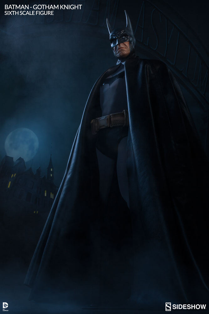 Gotham Knight Batman 1/6th Scale Figure by Sideshow Collectibles-Sideshow Collectibles- www.superherotoystore.com-Statue - 4