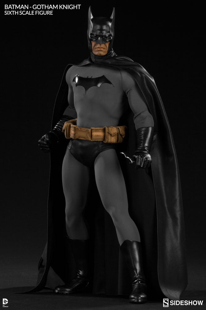 Gotham Knight Batman 1/6th Scale Figure by Sideshow Collectibles-Sideshow Collectibles- www.superherotoystore.com-Statue - 5