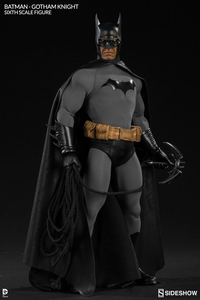 Gotham Knight Batman 1/6th Scale Figure by Sideshow Collectibles-Sideshow Collectibles- www.superherotoystore.com-Statue - 6