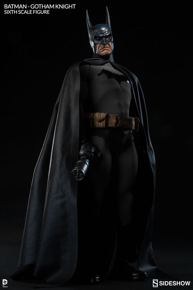 Gotham Knight Batman 1/6th Scale Figure by Sideshow Collectibles-Sideshow Collectibles- www.superherotoystore.com-Statue - 7