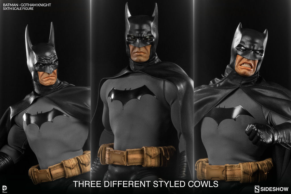 Gotham Knight Batman 1/6th Scale Figure by Sideshow Collectibles-Sideshow Collectibles- www.superherotoystore.com-Statue - 2
