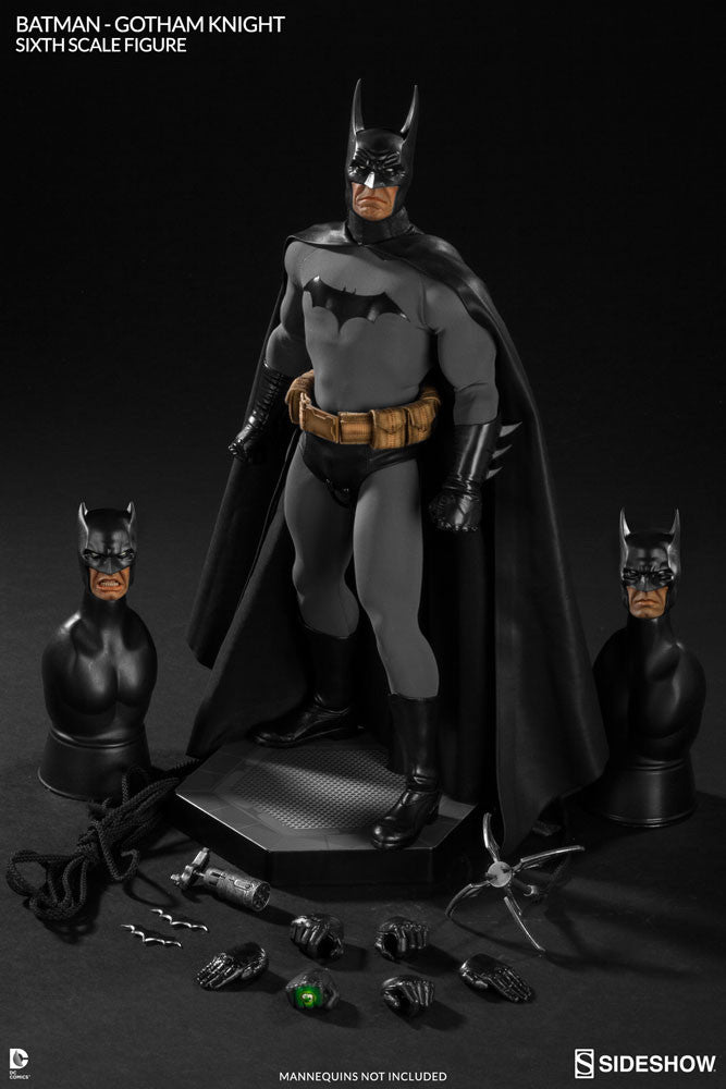 Gotham Knight Batman 1/6th Scale Figure by Sideshow Collectibles-Sideshow Collectibles- www.superherotoystore.com-Statue - 9