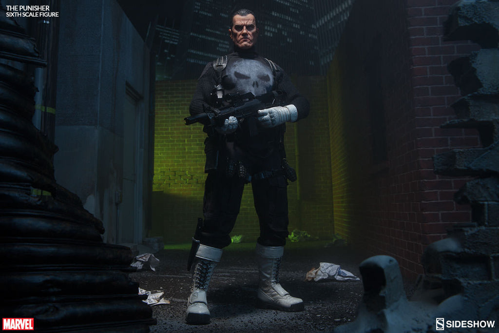 The Punisher 1/6th Scale Action Figure by Sideshow Collectibles-Sideshow Collectibles- www.superherotoystore.com-Action Figure - 3