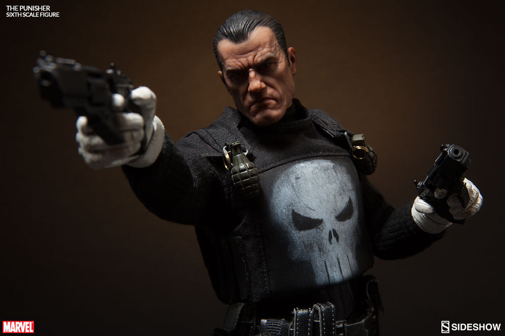 The Punisher 1/6th Scale Action Figure by Sideshow Collectibles-Sideshow Collectibles- www.superherotoystore.com-Action Figure - 2