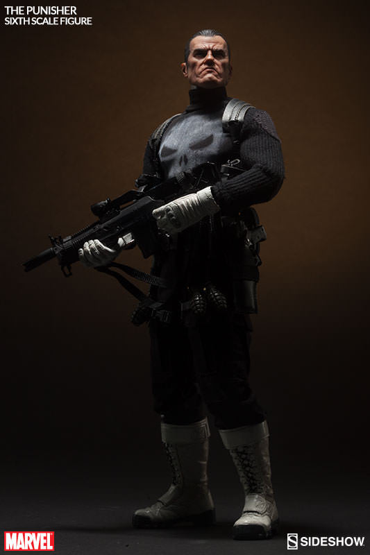 The Punisher 1/6th Scale Action Figure by Sideshow Collectibles-Sideshow Collectibles- www.superherotoystore.com-Action Figure - 5