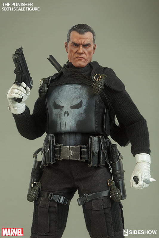 The Punisher 1/6th Scale Action Figure by Sideshow Collectibles-Sideshow Collectibles- www.superherotoystore.com-Action Figure - 8